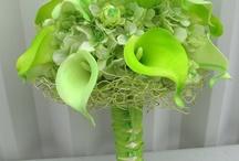 Lime green wedding