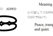 Writing with Adinkra Alphabet