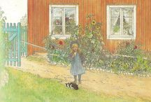 Lovely Art / I enjoy painting in watercolor and oils.  My favorite all time artist is Carl Larson.  I love classic art where real beauty shines forth.  I also love pictures of family life...probably because I am the mother of six.  / by Janelle@The Peaceful Haven