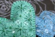Fabric & Beads <3