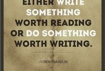 Quotes About Writing / Writing