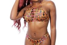 Exotica Top / Inspired by the awesomeness of colourful African and exotic prints, Prudence tapped into her passion and built Imani Swimwear, an Australian exotic bathing suit design venture based in Sydney. Currently, Exotica Swimwear makes its sales primarily through this online resource.