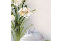 Easter Cards & Fabric / All things Easter, including wascally wabbits, and more! / by KatyDids Cards
