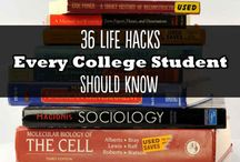 College / Saving for college, decorating in small places, other how-to posts for college / by Michelle Lamar