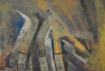 Lao-ce útja / festmények, melyeket Lao-ce ihletésére készítettem