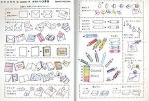 ballpoint illustrations