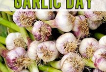 National Garlic Day / by Once A Month Meals