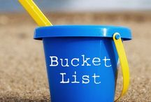 Bucket List / Things to do before kicking the bucket