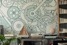 office pattern