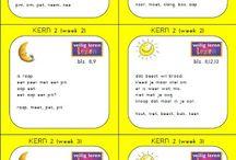 Reading, writing, math - kids
