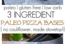 pizze alternative, tacos, crust etc