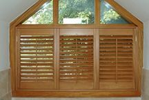 Basswood Plantation Shutters / Basswood shutters including 6 louvre profiles, special shapes, custom colours.