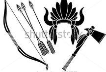 kızılderili motifleri