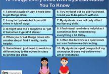 Dyslexia  / by Elizabeth Kemp