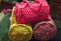 Crochet/knitted bags