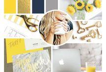 Mood Board // Graphic Girl Design
