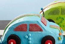 Asher car cake