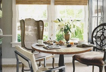 Breakfast Room / They say breakfast is the most important meal of the day, so why not enjoy it in a beautiful room!? Check out these amazing breakfast rooms.