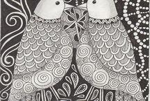zentangle inspired art - ZIA