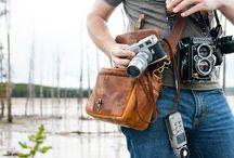 Camera's & Gear / I love good design of camera's & bags
