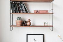 HOME - shelf