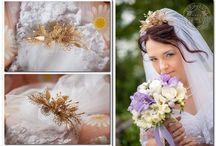 Esküvői inspiráció szalmával / Esküvői dekoráció, kiegészítők szalmával