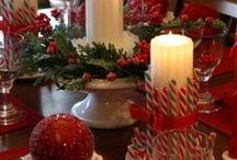 mesas para o natal