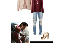 Marvel clothes / I really love marvel so I thought I make a new board
