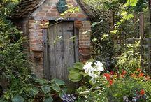 garden, old
