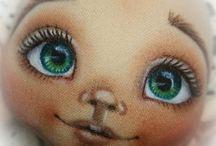 рисование кукольных лиц