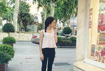 Outfit PINK / Shirt- mango jeans- stradivarius shoes- tienda local