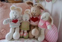 knitted dolls / by Hila Donagi