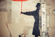 I>art>street art / by Claire