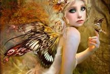 Digital Fairies, Elves, different fantasy creatures / Fantasy creatures.