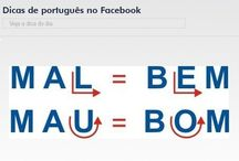 Dicas de português e inglês