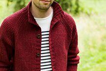 man knit sweater