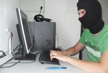 Hacker unterwegs