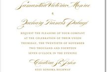 Wedding Invites / by Katie (Hamm) Proctor