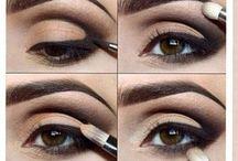 make-up pre hnedé oči