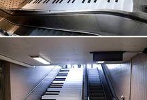 Stairs subways