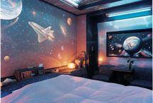 Boys bedroom decoration
