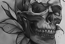 Calaveras tattoo