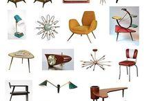 1950s mobilya