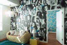 Funky wall stuff / Photo walls