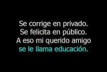 Educacion  ♥