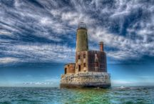 Lighthouse / The ice was here, the ice was there...  The ice was all around;  It cracked and growled, and roared and howled...  Like noise in a swound…  —Samuel Taylor Coleridge  The Rime of the Ancient Mariner