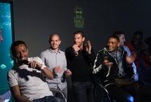 Soirée #Pierrelepoulpe / Le Team Orange a répondu présent à la soirée Pierre le poulpe ! / by Le 12ème homme