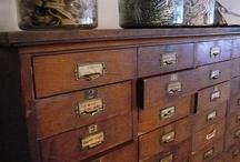 Storage / Storage cupboard ideas