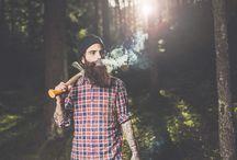Beards and Tattoo / Beards, Tattoo, Fashion, Model, Beauty, Photography