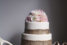 Cakes for styled shoot